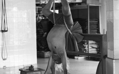 Fordított testhelyzetek az Iyengar jógában